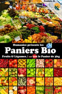 Affiche Panier Bio II